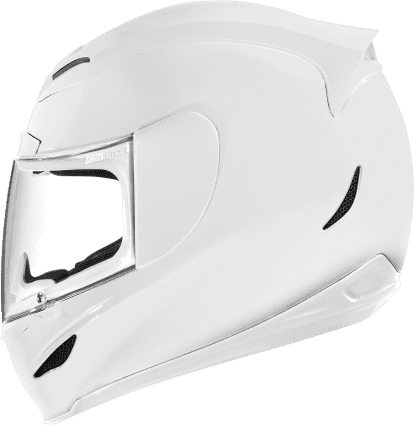 Casco ICON Airmada Solid White Gloss en internet
