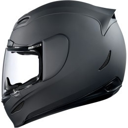 Casco ICON Airmada Solid Black Rubatone - ALL2BIKES COLOMBIA - Lo Mejor En Indumentaria , Accesorios Y Repuestos Para Motos