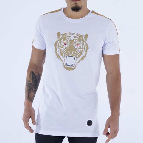 T-SHIRT SUEDE TIGER