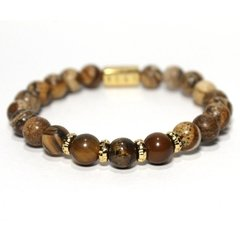 Pulseira Golden Wood