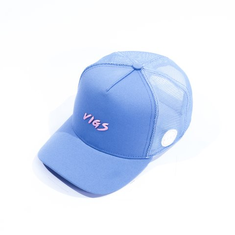 BONÉ TRUCKER BLUE