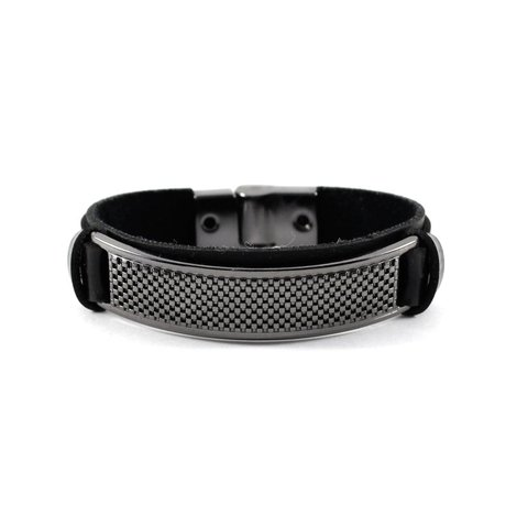 Pulseira Slim Points Ónix