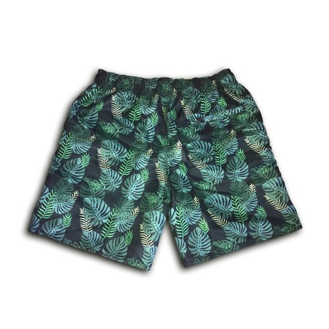 Short Summer Green Floral - comprar online