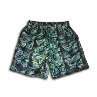 Short Summer Green Floral