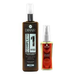 Complete One 220ml + Óleo de Argan 30ml - Dihair Professional