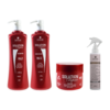 Imagem do kit Solution Repair Multi Reconstrutor 1 Litro + Complete One 200ml - DiHair Professional