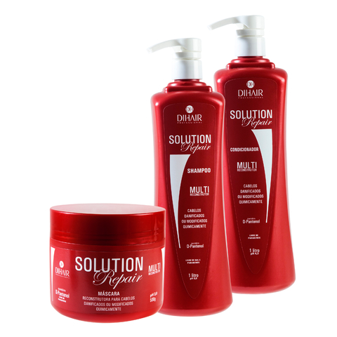 Dihair Kit Solution Repair 1 Litro Profissional