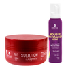 Máscara Solution Repair Multi Reconstrutor 250gr + Mousse Matizador Blond 150ml - Dihair Professional - comprar online
