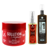 Máscara Solution Repair Multi Reconstrutor 500gr + Complete One 220ml + Óleo de Argan 30ml - DiHair Professional