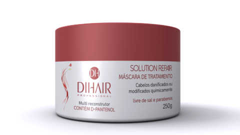 Dihair - Máscara Solution Repair 250g - Multi reconstrutor