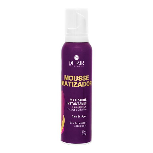 Máscara Solution Repair Multi Reconstrutor 250gr + Mousse Matizador Concentrado 150ml - Dihair Professional na internet