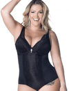Body Rendado com Regulagem Plus Size 4141