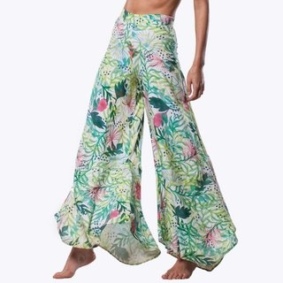Vegan Flower Pants