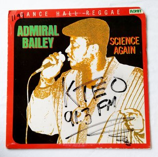 LP Admiral Bailey - Science Again (Original Press) [VG+]