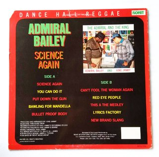 LP Admiral Bailey - Science Again (Original Press) [VG+] - comprar online