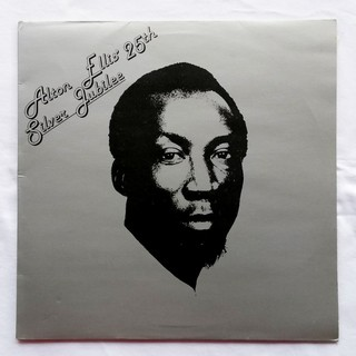 LP Alton Ellis - Alton Ellis' 25th Silver Jubilee (Original Press) [VG+]
