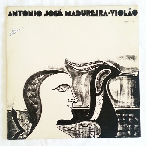 LP Antônio José Madureira - Violão (Original Press) [VG+]