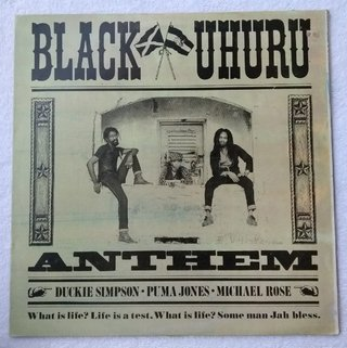 LP Black Uhuru - Anthem (Original JA Press) [VG+]