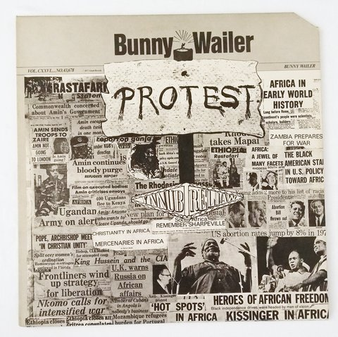 LP Bunny Wailer - Protest (Original US Press) [VG+]