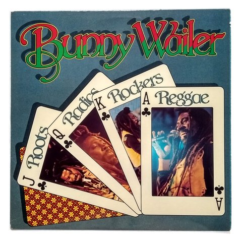 LP Bunny Wailer - Roots Radics Rock Reggae (Original US Press) [VG+]