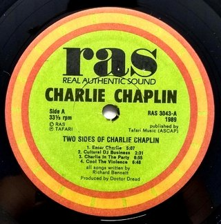 LP Charlie Chaplin - Two Sides of Charlie Chaplin (Original US Press) [VG+] na internet
