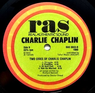 LP Charlie Chaplin - Two Sides of Charlie Chaplin (Original US Press) [VG+] - Subcultura