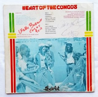 LP Congos - Heart Of The Congos [VG] - comprar online