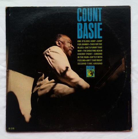 LP Count Basie - Count Basie (Original Press) [VG+]