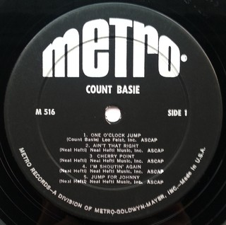 LP Count Basie - Count Basie (Original Press) [VG+] na internet
