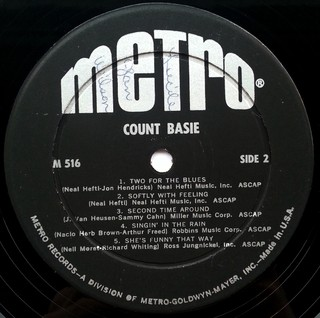 LP Count Basie - Count Basie (Original Press) [VG+] - Subcultura