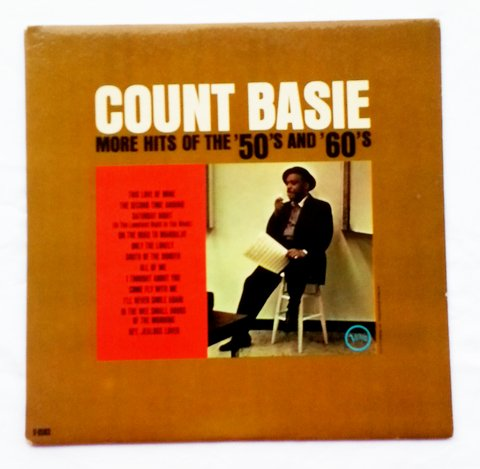 LP Count Basie - More Hits of the 50's and 60's (Original Press) [VG+]