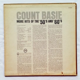 LP Count Basie - More Hits of the 50's and 60's (Original Press) [VG+] - comprar online
