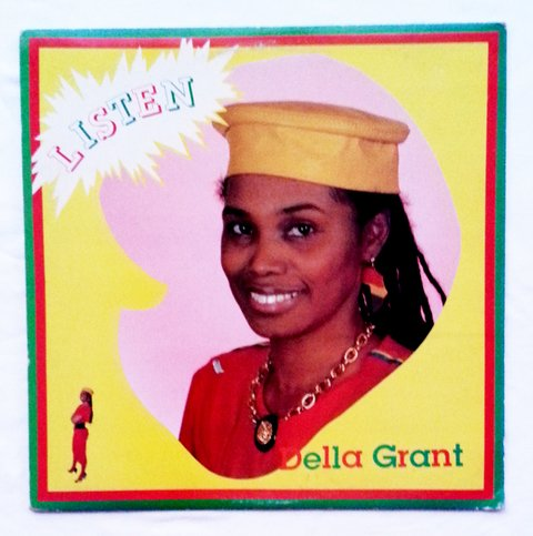 LP Della Grant - Listen (Original Press) [VG+]