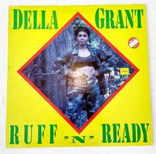 LP Della Grant - Ruff N' Ready (Original Press) [VG+]