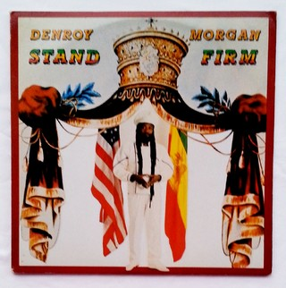 LP Denroy Morgan - Stand Firm & Dub (Original Press) [VG+]