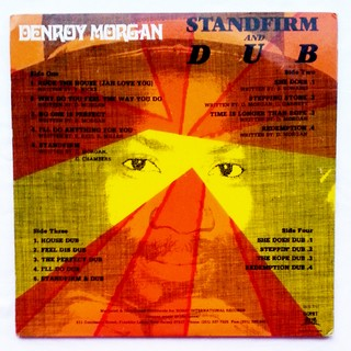LP Denroy Morgan - Stand Firm & Dub (Original Press) [VG+] - comprar online