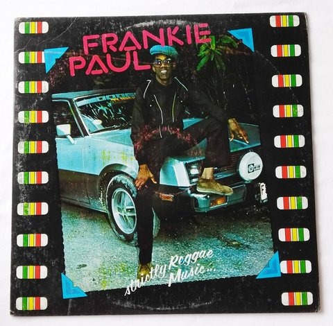 LP Frankie Paul - Strictly Reggae Music (Original JA Press) [VG+]