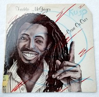 LP Freddie McGregor - Come On Over (Original US Press) [VG+]