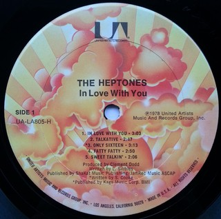 LP Heptones - In Love With You (Original Press) [VG+] na internet