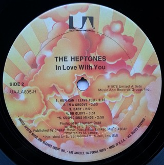 LP Heptones - In Love With You (Original Press) [VG+] - Subcultura