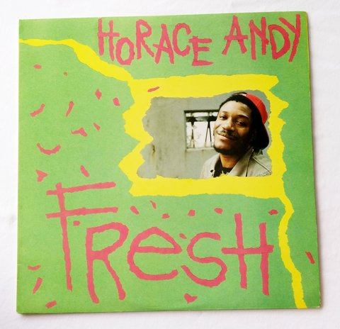 LP Horace Andy - Fresh (Original US Press) [VG+]