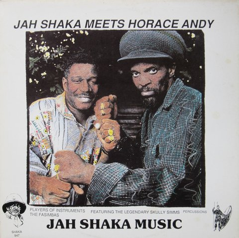 LP Horace Andy - Jah Shaka meets Horace Andy [NM]