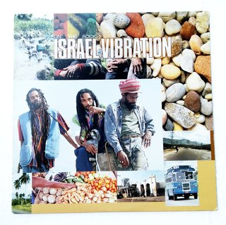 LP Israel Vibration - On The Rock (Original US Press) [VG+]
