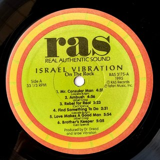 LP Israel Vibration - On The Rock (Original US Press) [VG+] na internet