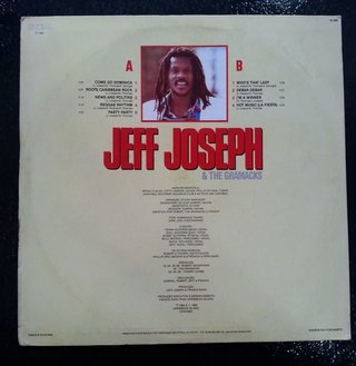LP Jeff Joseph & The Grammacks - Jeff Joseph & The Grammacks [VG+] - comprar online