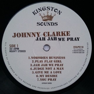 LP Johnny Clarke - Jah Jah We Pray [VG+] - Subcultura