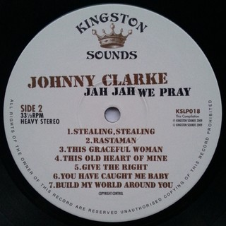 LP Johnny Clarke - Jah Jah We Pray [VG+] - loja online