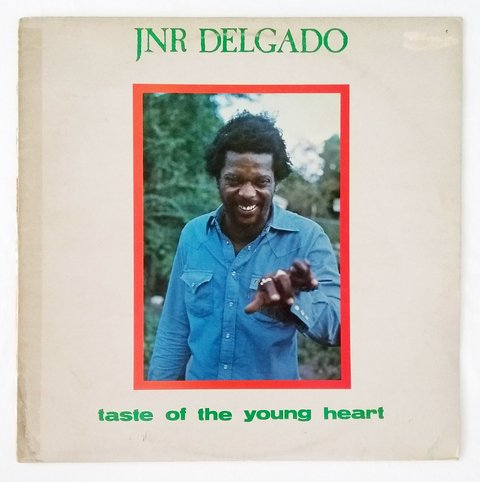 LP Junior Delgado - Taste Of The Young Heart (Original UK Press) [VG+]