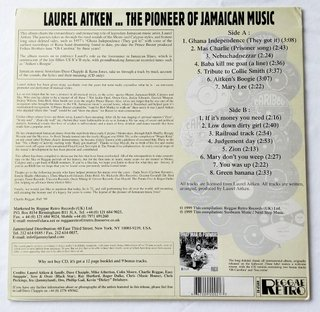 LP Laurel Aitken - The Pioneer of Jamaican Music [VG+] - comprar online