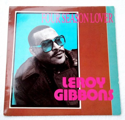LP Leroy Gibbons - Four Season Lover (Original US Press) [VG]